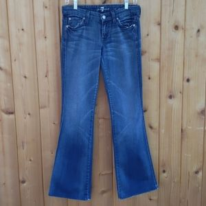 """7 For All Mankind """"A"""" Pocket Bootcut Jeans - 26"""